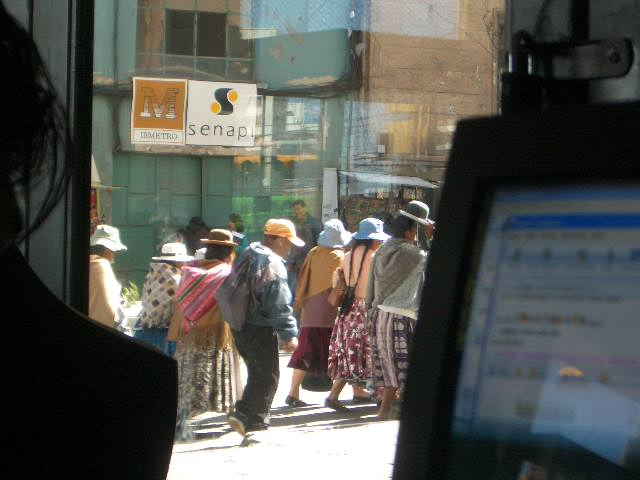 PROTEST! BOLIVIA!